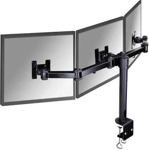 """3fach Monitor-Tischhalterung 25,4 cm (10"""") - 54,6 cm (21,5"""") Neigbar+Schwenkbar, Rotierbar NewStar Products FPMA-D960D3 Ausziehbar"""