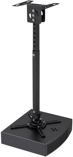 Beamer-Deckenhalterung Neigbar, Drehbar Boden-/Deckenabstand (max.): 83 cm NewStar Products BEAMER-C100 Schwarz