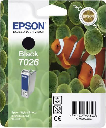 Epson Tintenpatrone T026 Schwarz C13T02640110