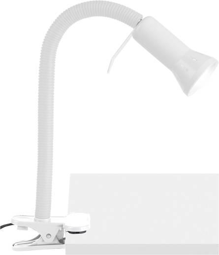 Klemmleuchte Energiesparlampe E14 40 W Brilliant Antony Weiß