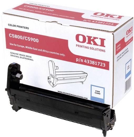OKI Trommeleinheit Drum Unit C5550 C5800 C5900 43381723 Original Cyan 20000 Seiten