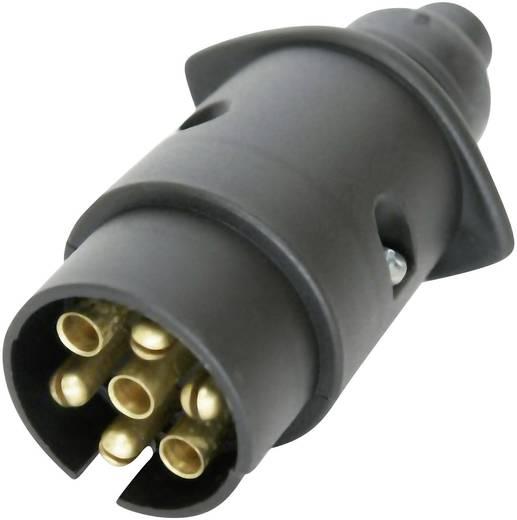 Anhänger Stecker [Steckdose 7polig - Stecker 7polig] 02507 ABS Kunststoff