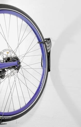 Fahrradwandhalter Anzahl Einstellplätze=2 Bicyle Gear 14167 Metall Schwarz