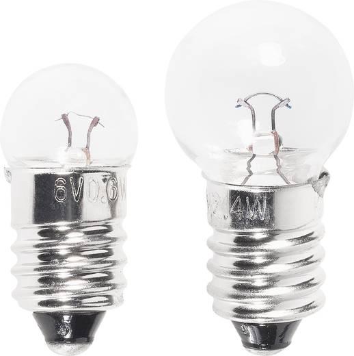 Kugellampe, Fahrradlampe 6 V, 6 V 2.40 W, 0.60 W Klar 20149 Bicyle Gear 1 Set