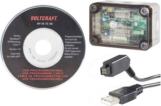 Gehäusesystem C-Control Pro PRO Mini Station + VOLTCRAFT® USB-Programmierkabel