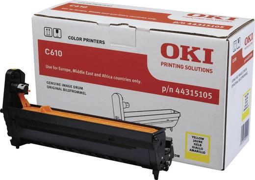 OKI Trommeleinheit Drum Unit C610 44315105 Original Gelb 20000 Seiten