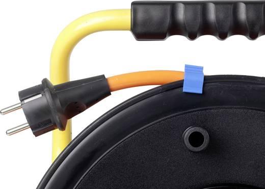 Kabeltrommel 40 m Orange Schutzkontakt-Stecker as - Schwabe 20623