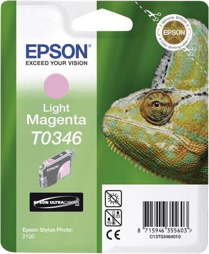 Epson Tintenpatrone T0346 Light Magenta C13T03464010
