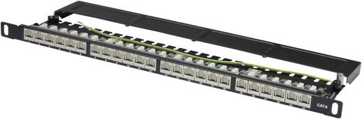 24 Port Netzwerk-Patchpanel Digitus Professional DN-91624S-SL-SH CAT 6 0.5 HE