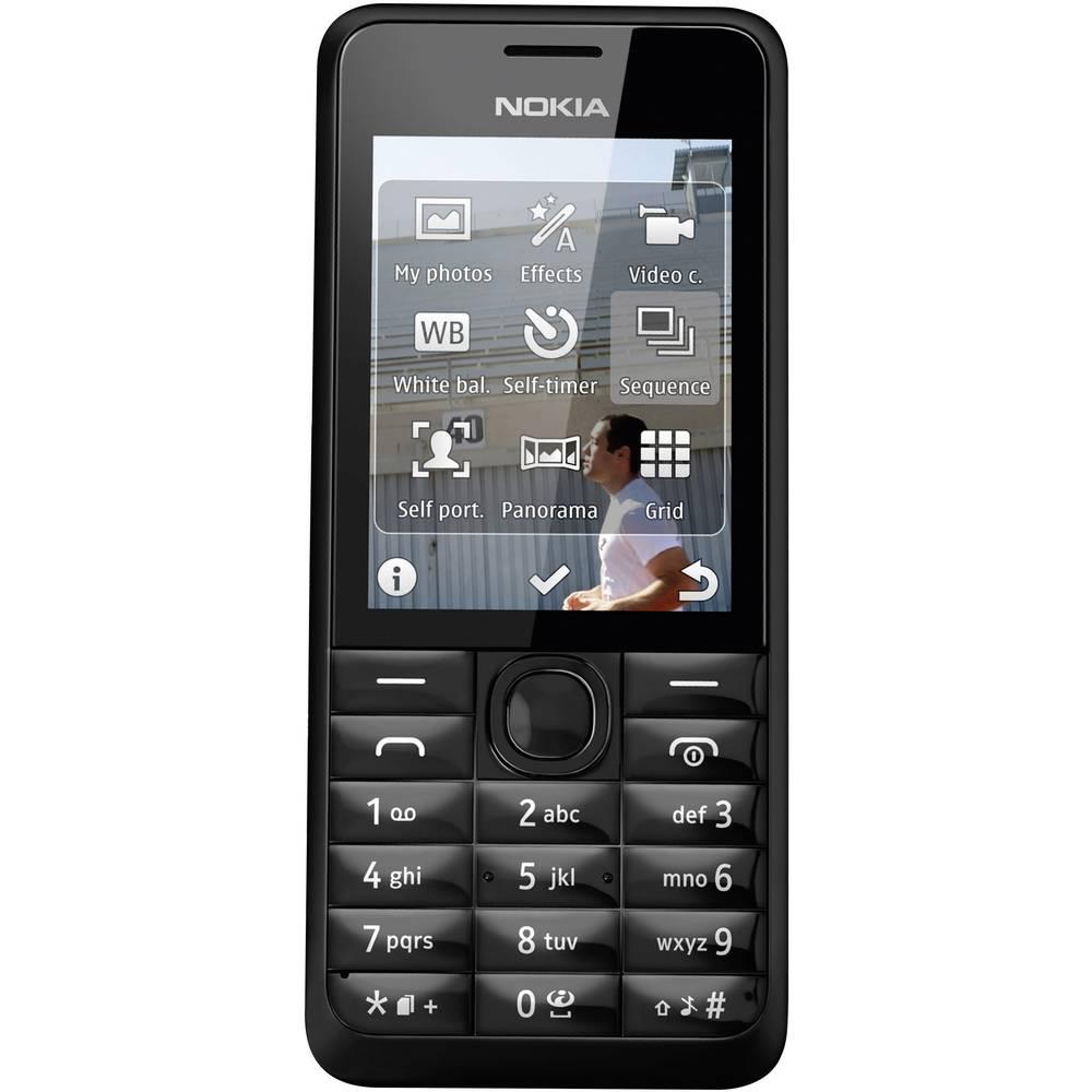 Nokia 301 t l phone portable microsd cam ra 3 2 mp 39 - Telephone portable 8 megapixel ...