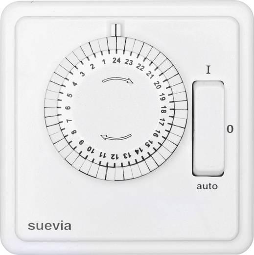 Unterputz-Zeitschaltuhr analog Tagesprogramm Suevia 248.024.9.084 2200 W IP20