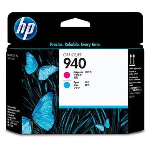 HP Tinten-Druckkopf 940 Cyan;Magenta C4901A