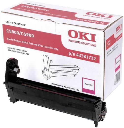 OKI Trommeleinheit Drum Unit C5550 C5800 C5900 43381722 Original Magenta 20000 Seiten