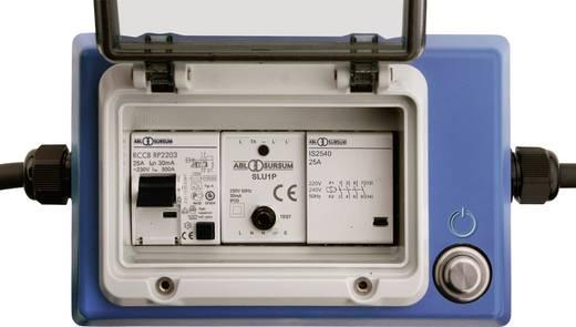 Strom Verlängerungskabel [ Schutzkontakt-Gummi-Stecker - Schutzkontakt-Gummi-Kupplung] 16 A 3 m mit PRCD as - Schwabe 45410