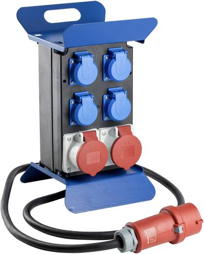 CEE Stromverteiler Stromverteiler STECKY 1 400?V CEE 60504 400 V 16 A as - Schwabe