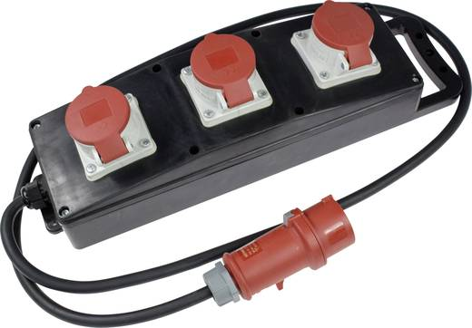 CEE Stromverteiler 60558 400 V 16 A as - Schwabe