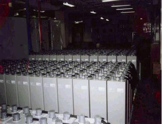 Bleiakku 12 V 91 Ah GNB Sonnenschein A612/100, 12V 2 OPzV 100 NGA6120100HS0FA Blei-Gel (B x H x T) 273 x 358 x 204 mm M8-Schraubanschluss Wartungsfrei