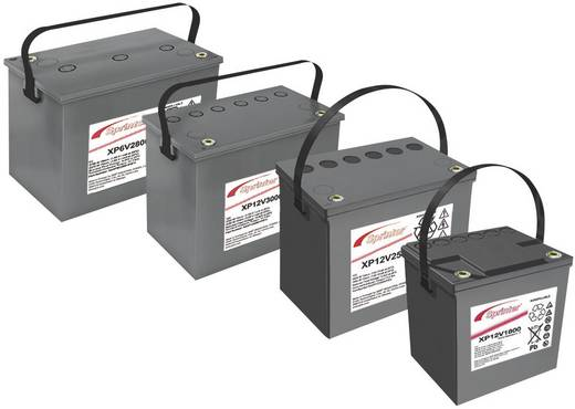 Bleiakku 6 V 195 Ah GNB Sprinter XP6V2800 NAXP062800HP0FA Blei-Vlies (AGM) (B x H x T) 309 x 241 x 172 mm M6-Schraubansc