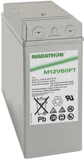 Bleiakku 12 V 59 Ah GNB Marathon M 12 V 60 FT NAMF120060HM0MA Blei-Vlies (AGM) (B x H x T) 107 x 263 x 280 mm M6-Schraubanschluss Wartungsfrei