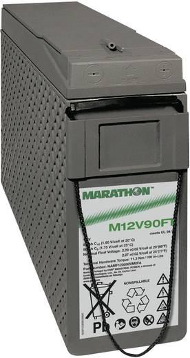 Bleiakku 12 V 86 Ah GNB Marathon M 12 V 90 FT UL94 NAMF120090VM0FA Blei-Vlies (AGM) (B x H x T) 105 x 270 x 395 mm M6-Schraubanschluss Wartungsfrei