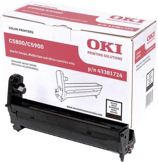 OKI Trommeleinheit Drum Unit C5550 C5800 C5900 43381724 Original Schwarz 20000 Seiten
