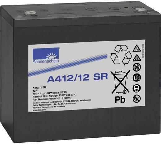 Bleiakku 12 V 12 Ah GNB Sonnenschein A412/12 SR NGA4120012HS0RA Blei-Gel (B x H x T) 181 x 157 x 76 mm Flachstecker 6.35 mm Wartungsfrei