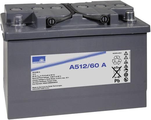Bleiakku 12 V 60 Ah GNB Sonnenschein A512/60 A NGA5120060HS0CA Blei-Gel (B x H x T) 278 x 190 x 175 mm Konuspol Wartungs