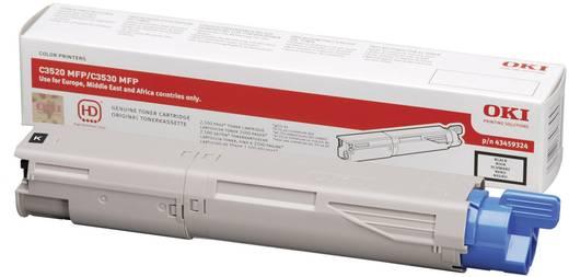 OKI Toner C3520 C3530 MC350 MC360 43459324 Original Schwarz 2500 Seiten