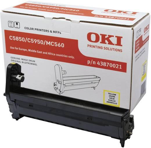 OKI Trommeleinheit Drum Unit C5850 C5950 C6150 MC560 43870021 Original Gelb 20000 Seiten
