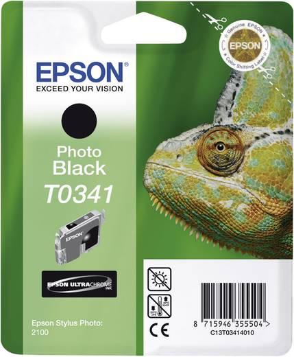 Epson Tintenpatrone T0341 Schwarz C13T03414010