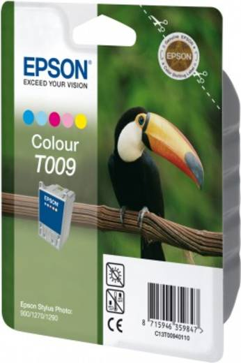 Epson Tinte T009 Original Cyan, Hell Cyan, Magenta, Hell Magenta, Gelb C13T00940110