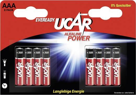 Micro (AAA)-Batterie UCAR 8 piles micro LR03 1.5 V 8 St.