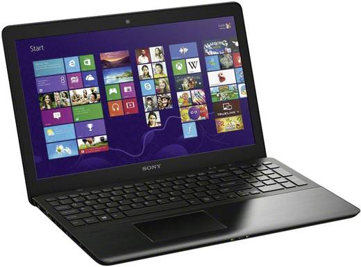sony vaio fit 15 serie svf15a1z2eb notebook 39 5 cm 15 5 schwarz geb rstetes aluminium. Black Bedroom Furniture Sets. Home Design Ideas