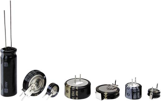 Gold-Cap Kondensator 1 F 5.5 V 30 % (Ø) 19 mm Panasonic EECS5R5H105 1 St.