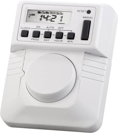 Unterputz-Zeitschaltuhr digital Wochenprogramm TM-6383A 2300 W IP20
