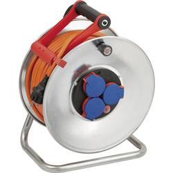 Kabelový buben Brennenstuhl Garant, 1198470, 3 zásuvky, 40 m, oranžová