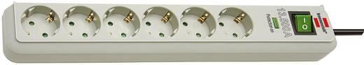 Überspannungsschutz-Steckdosenleiste 6fach Grau Schutzkontakt Brennenstuhl 1159750015