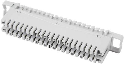 LSA-Leisten Baureihe 2 Anschlussleiste 2/10, mit Farbcode 10 Doppeladern 46006.1F EFB Elektronik Inhalt: 1 St.