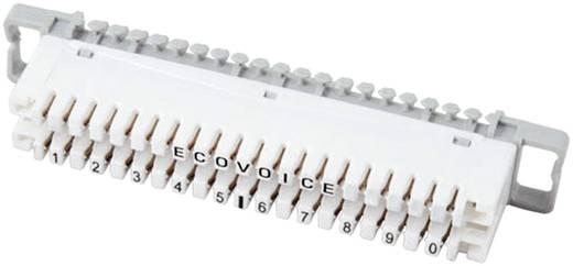 LSA-Leisten Baureihe 2 Trennleiste 2/10, mit Farbcode 10 Doppeladern 46005.1F EFB Elektronik Inhalt: 1 St.
