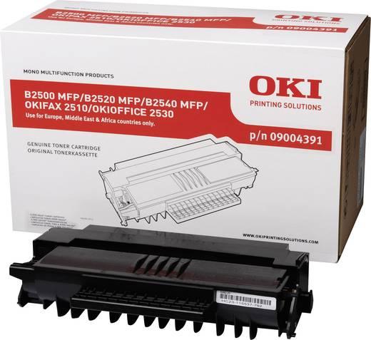 OKI Toner B2500 B2540 FAX 2510 OFFICE 2530 09004391 Original Schwarz 4000 Seiten