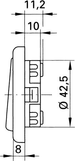 inprojal elektrosysteme Ausschalter 1polig Braun 102564