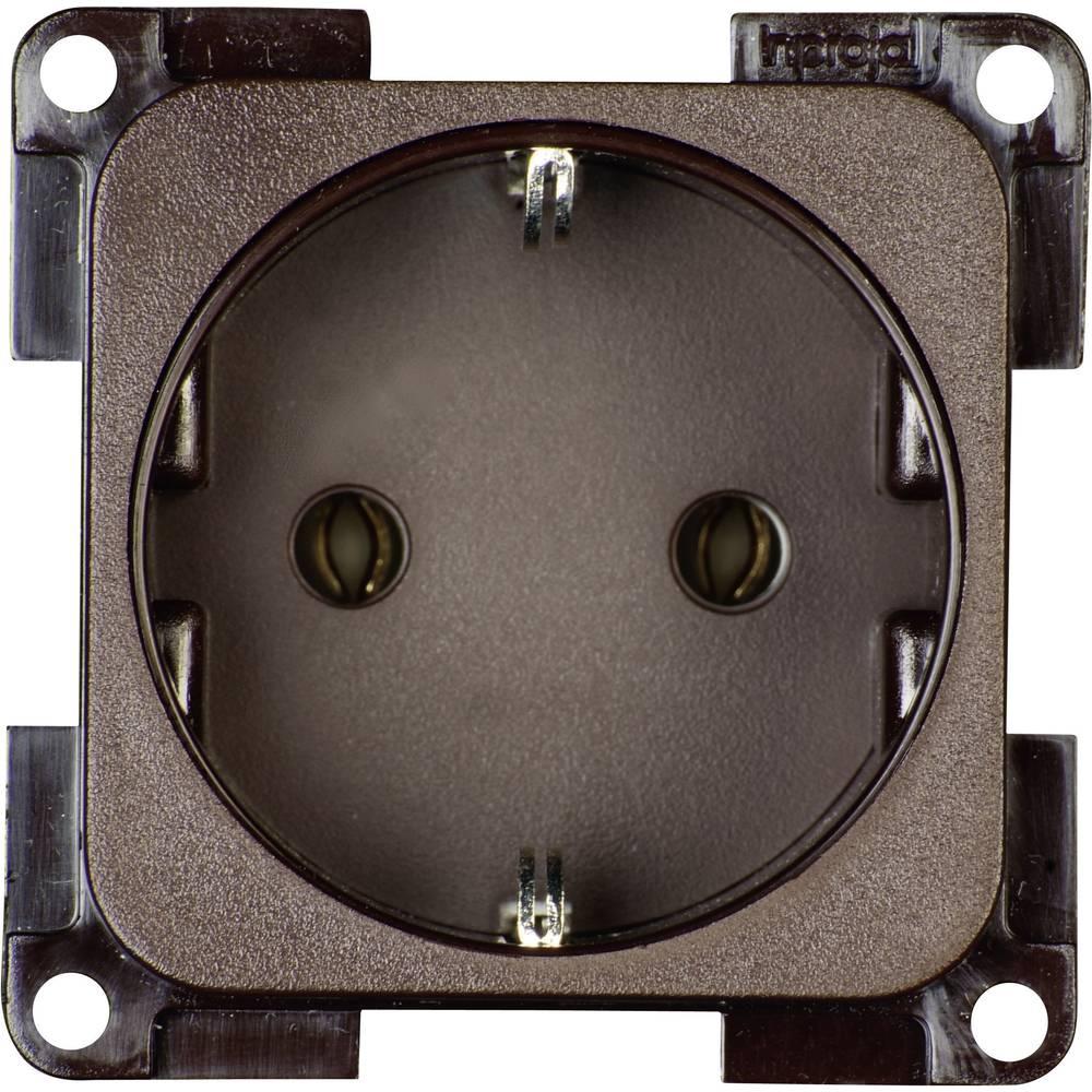 inprojal elektrosysteme Insert PG socket Brown from Conrad.com