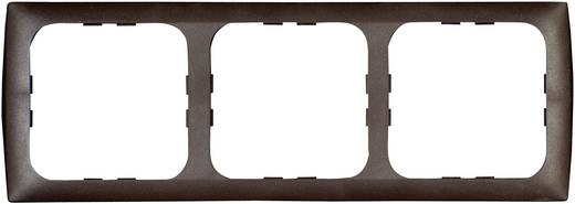 inprojal elektrosysteme 3fach Rahmen Braun 102569
