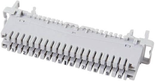 LSA Leisten Baureihe 2 PROFIL Anschlussleiste 2/10, mit Farbcode 10 Doppeladern 46006.2F EFB Elektronik Inhalt: 1 St.