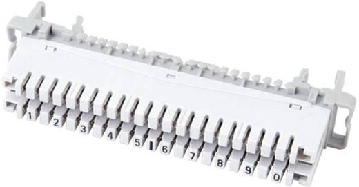 LSA Leisten Baureihe 2 PROFIL Trennleiste 2/10, mit Farbcode 10 Doppeladern 46005.2F EFB Elektronik Inhalt: 1 St.