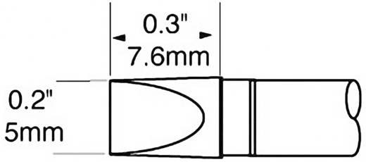 Lötspitze Meißelform OKI by Metcal SCP-CH50 Spitzen-Größe 5 mm Spitzen-Länge 7.6 mm Inhalt 1 St.