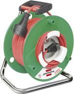 Enrouleur de câble 50 m Brennenstuhl 1184830 rouge Prise mâle + contact de protection 1 pc(s)
