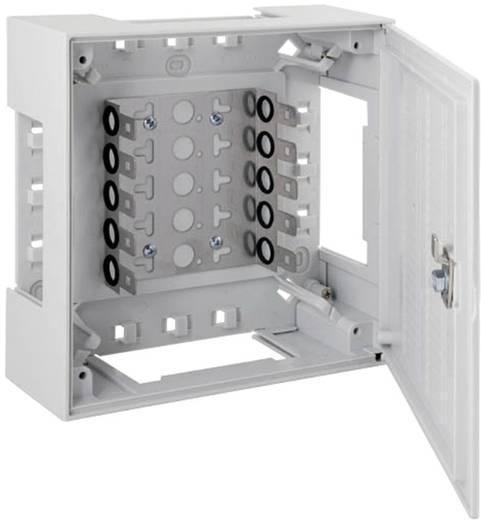 Kunststoffverteiler BOX II BOX II mit Vorreiber 5 LSA-Leisten 2/10 46025.1 EFB Elektronik Inhalt: 1 St.