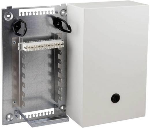 Stahlblechverteilerkasten VKA4 Gehäuse mit Montagewinkel für 2 x 7 Leisten 2/10 140 Doppeladern 46018.1V10 EFB Elektron