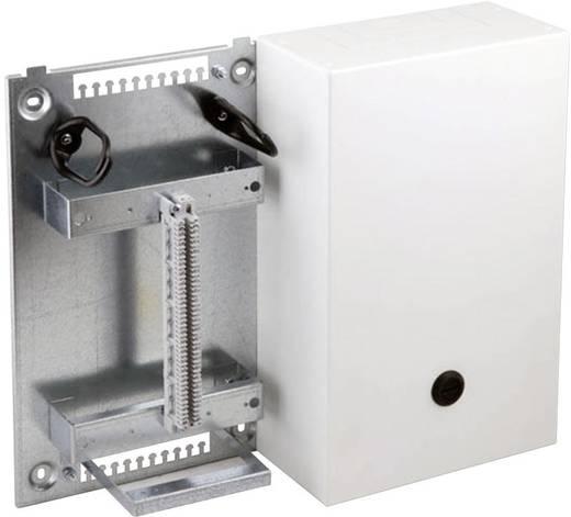 Stahlblechverteilerkasten VKA4 Gehäuse mit Montagewinkel für 2 x 5 Leisten 1/20 200 Doppeladern 46018.1V20 EFB Elektron